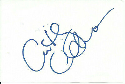 Anthony Anderson Original & Vintage In-Person Signed Album Page