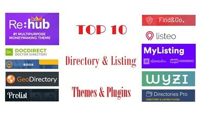 Top 10 Directory Listing Wordpress Themes & Plugins | Rehub, MyListing, ProList