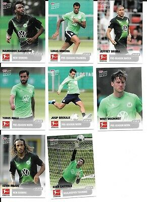 2019/20 Topps NOW Bundesliga VfL Wolfsburg Road To Kickoff cards -Choose singles