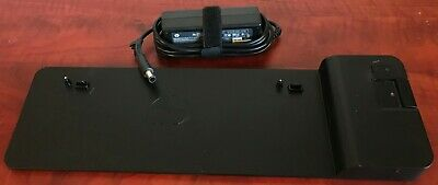 HP 2013 UltraSlim Docking Station. D9Y32AA#ABG + HP PSU 40 Available Express
