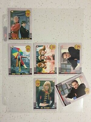 1994 Cornerstone Doctor Who Premiere Chase Card lot. Sub-Set. Mint/N Mint.