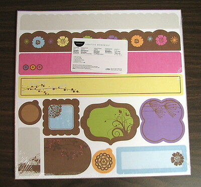 Creative Memories Simple Blooms Border Kit