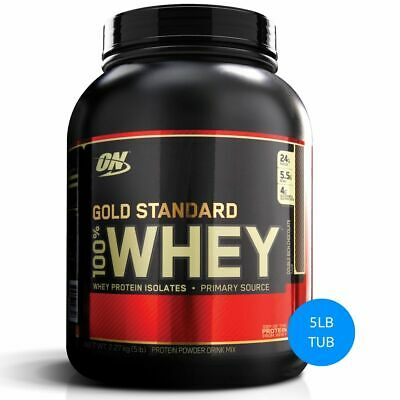 Optimum Nutrition Gold Standard 100% Whey Protein Blend Isolate Wpi // Wpc