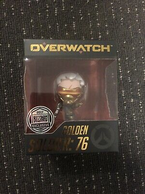 Overwatch Golden Soldier 76 Cute But Deadly 2017 Blizzcon Exclusive Figure