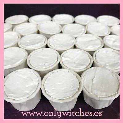 X10 lot White Eggshell Cups Santeria IFA / Cascarilla Cups - The Best Price!!