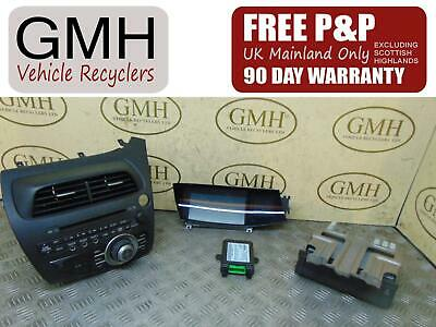 Honda Civic Mk8 Radio Cd Player & Display With Bluetooth Ecu 2006-2012~