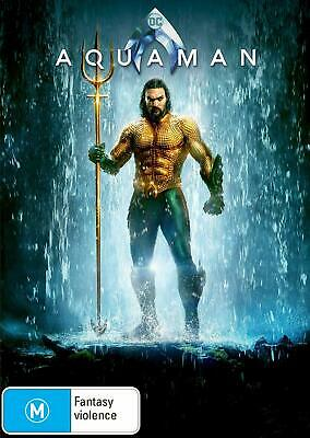Aquaman DVD, NEW SEALED AUSTRALIAN RELEASE REGION 4