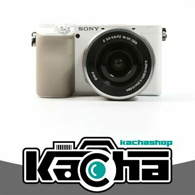 NUOVO Sony Alpha a6100 Mirrorless Digital Camera + 16-50mm Lenses (White)