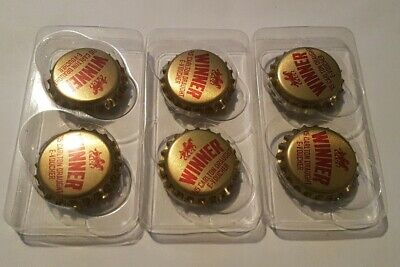 Carlton Draught $15 expired E-Voucher Classic Collectable Bottletop Magnet X 6