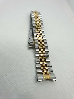 20mm stainless steel jubilee bracelet Fits To Rolex datejust 116233 watches