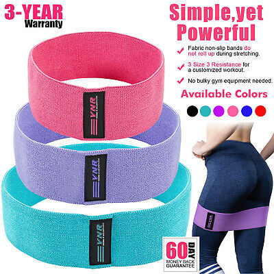 YNR® Resistance Bands HIP CIRCLE Loop Rotation Glute Elastic Exercise Fitness