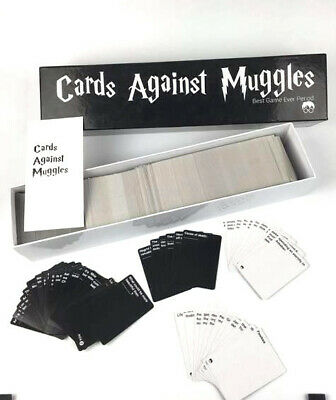 Cards Against Muggles 1440 Cards Harry Potter Limited Edition Game Uk