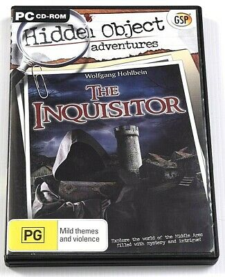 The Inquisitor Game PC Hidden Mystery Object Puzzle Adventure Wolfgang Hohlbein