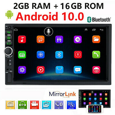 "Android 9.1 7"" Inch DOUBLE 2DIN Car MP5 Player Touch Screen Stereo Radio HD 32GB"