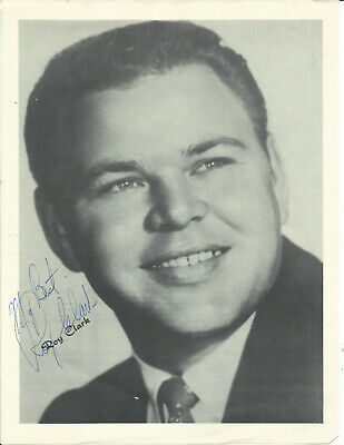 ROY CLARK SO YOUNG ORIGINAL & VINTAGE HAND SIGNED AUTOGRAPHED PHOTO d. 2018