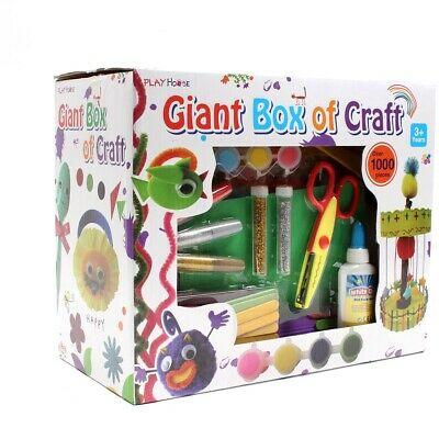 Giant Box of Craft 1000 Pieces - Brand New - Free UK Delivery