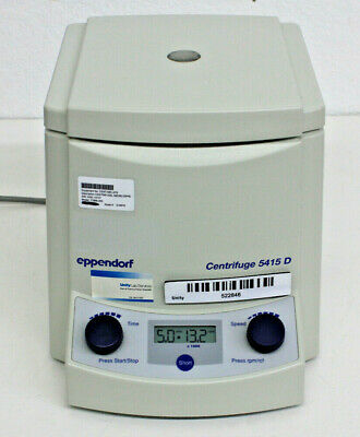 Eppendorf 5415D Centrifuge, 24 Positions, 13,200 RPM, 16,000  RCF