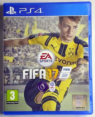 FIFA 17 PS4 EA SPORTS *Mint Condition* Same Day Dispatch *Scratch Free*