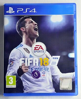 FIFA 18 PS4 EA SPORTS *Mint Condition* Same Day Dispatch *Scratch Free*