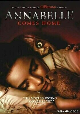 Annabelle Comes Home Dvd Brand New Sealed 2019