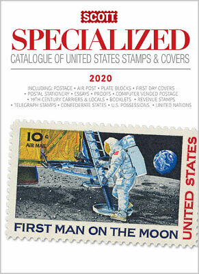 Scott 2020 U.s. Specialized Stamp Catalog - We Are A Veteran Supportive Business