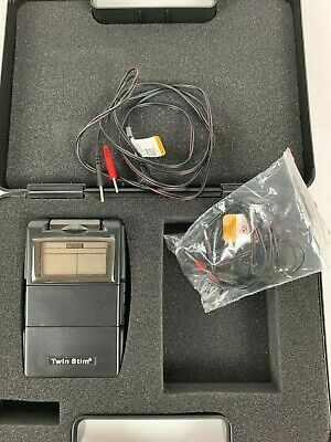 TWIN STIM 2nd Edition TENS 7000 & EMS 7500 Combo Unit Massager otc Stimulator