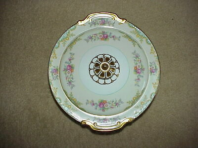 """Noritake Japan Jacquin China Serving Bowl 10 1/4"""" with Cover - Excellent"""