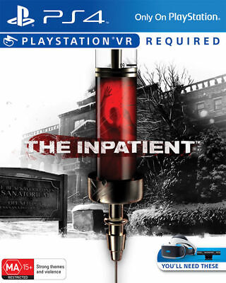 The Inpatient PlayStation VR, PS4  PlayStation 4 Game Brand NEW Sealed