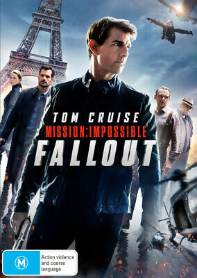 Mission: Impossible - Fallout  - DVD - NEW Region 4