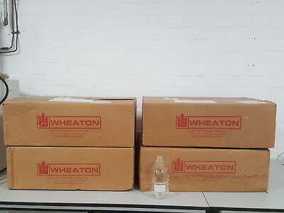 96x Wheaton Media Bottles 500ml Lab Bottles Glass Glassware New Boxed