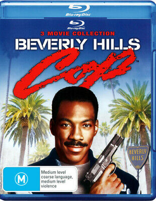 Beverly Hills Cop: 3 Movie Collection (Beverly Hills  . - BLU-RAY - NEW Region B