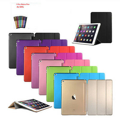 Ultra Slim Magnetic Leather Stand Smart Cover Case For iPad 9.7 iPad 2 3 4 Air 2