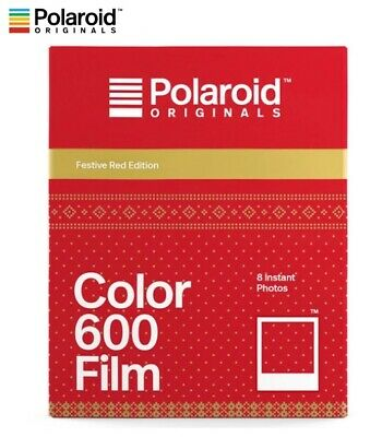 Polaroid Originals FESTIVE RED Color instant film - 600 636 OneStep i-Type US!