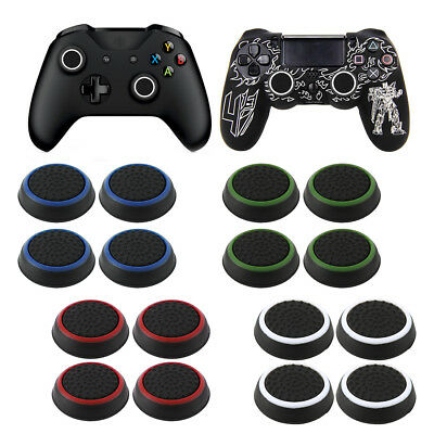 4/8X Analog PS4 Controller Thumb Stick Grip Thumbstick Cover Xbox one Joystick