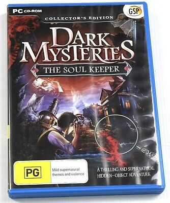Dark Mysteries The Soul Keepers Game PC Hidden Object Mystery Puzzle Adventure