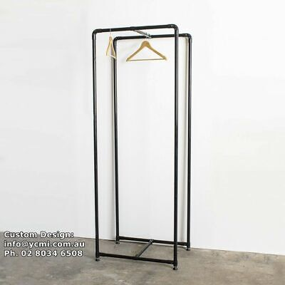 Industrial Lean Pipe SHOP Closet Garment Clothes Hanger Rail Rack Bracket LR026