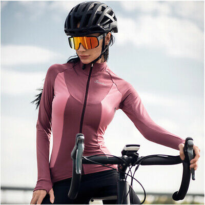 Santic Cycling Winter Fleece Thermal Cycling Jacket Coat Women's Jacket Red New