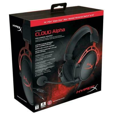 Kingston HyperX Cloud Alpha Pro Gaming Headset PC PS4 Xbox One 3.5mm