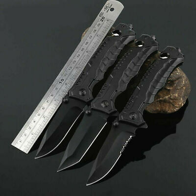 Tactical Survival Knives Hunting Camping Blade Military Survival Assisted