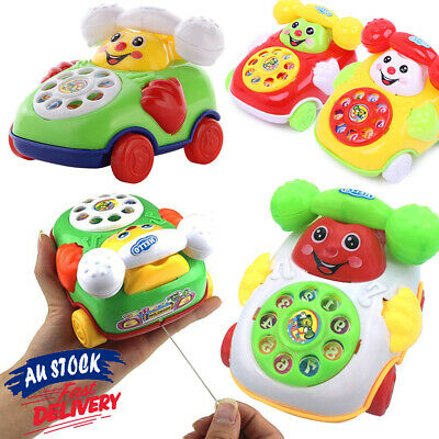 Hot Educational Cartoon Phone Developmental Chic Music Kids Toy Gifts Baby Toys