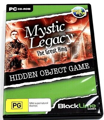 Mystic Legacy The Great Ring Game PC Hidden Object Mystery Puzzle Adventure