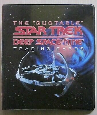 Tradingcard Album - ST DS9 Quotable - Rittenhouse