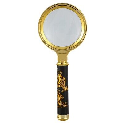 3X(8X Magnifying glass Reading magnifier Read instructions handheld E5L7)