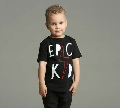 Nursery Epic Kid Nash Black T-Shirt (PA1) RRP £9.99