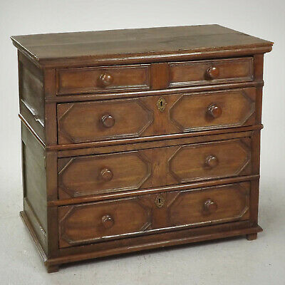 Antique Chest of Drawers (delivery available) 17thC Oak