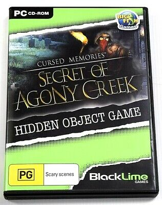 Cursed Memories Secret Of Agony Creek Game PC Hidden Object Mystery Puzzle
