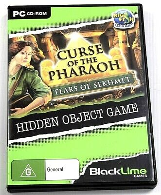Curse Of The Pharaoh Tears Of Sekhmet Game PC Hidden Object Mystery Puzzle
