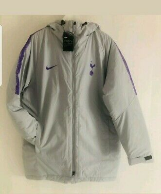 Tottenham Hotspur Spurs Quilted Managers Coat Jacket Mens Rare Size XL  BNWT