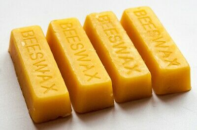 Pure Beeswax Blocks / Bars - Cosmetic Grade Beeswax - Naturally Fragrant Beeswax