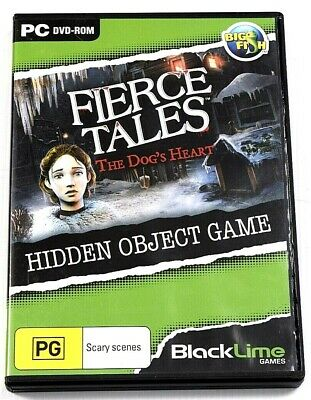 Fierce Tales The Dog's Heart Game PC Hidden Object Mystery Puzzle Adventure
